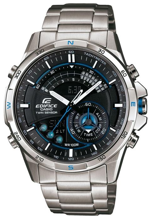 Наручные часы Casio ERA-200D-1AУниверсальность, практичность, функционал – на это нацелились инженеры из Casio тогда в 2006. В итоге гигант часовой индустрии создал ещё один рыночный хит. С дизайном Edifice одинокого хорошо сочетается как динамичный спортивный наряд, так и подчёркнуто ...<br>