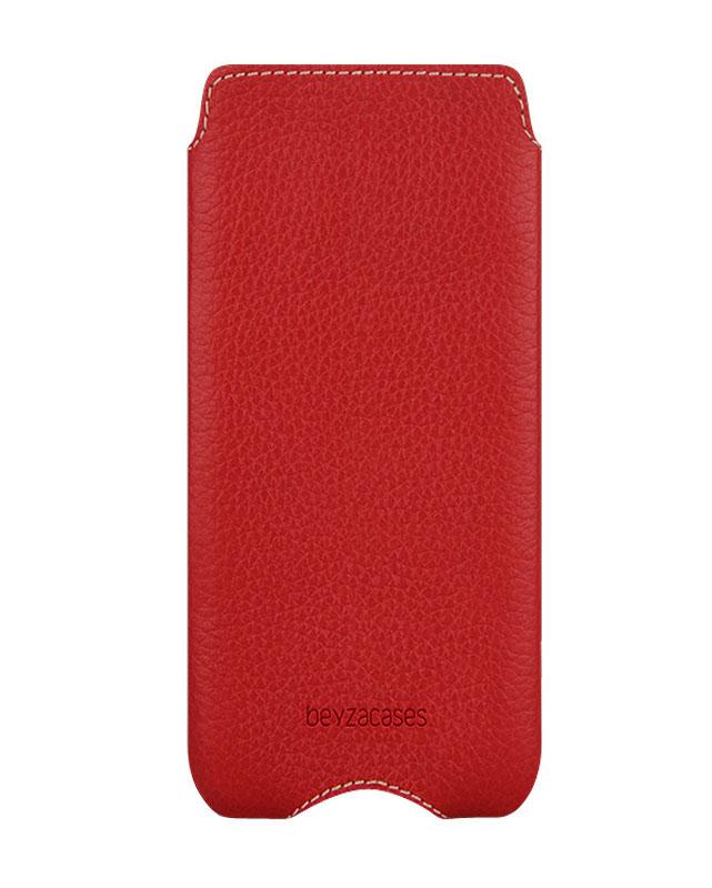 Чехол для iPhone 5/5S Zero Case RedКлассические линии в сочетании с модной прострочкой контрастными нитками не оставят вас равнодушными. Невесомый кожаный чехол Zero создан специально для изящных форм iPhone 5. Тонкая и прочная натуральная кожа высшего качества идеально повторяет формы т...<br>