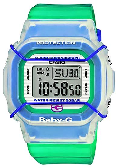 Casio BGD-500-3EОгромный успех защищённых часов G-SHOCK сегодня общеизвестен. Параллельная линейка от Casio под узнаваемой маркой Baby-G   это мощный G-SHOCK в элегантном дизайне для молодых привлекательных девушек. Время диктует активный формат. Не желая ни в чём отстав...<br>