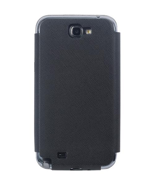 Чехол для Galaxy Note 2 Anymode Diary черныйОригинальный чехол от Samsung не только защитит ваш Galaxy Note 2 на все 100%, но и преобразит его внешний вид. Anymode Diary сшит из натуральной кожи премиум-класса, поэтому выглядит очень солидно и представительно. Это даже больше, чем чехол: на внутр...<br>