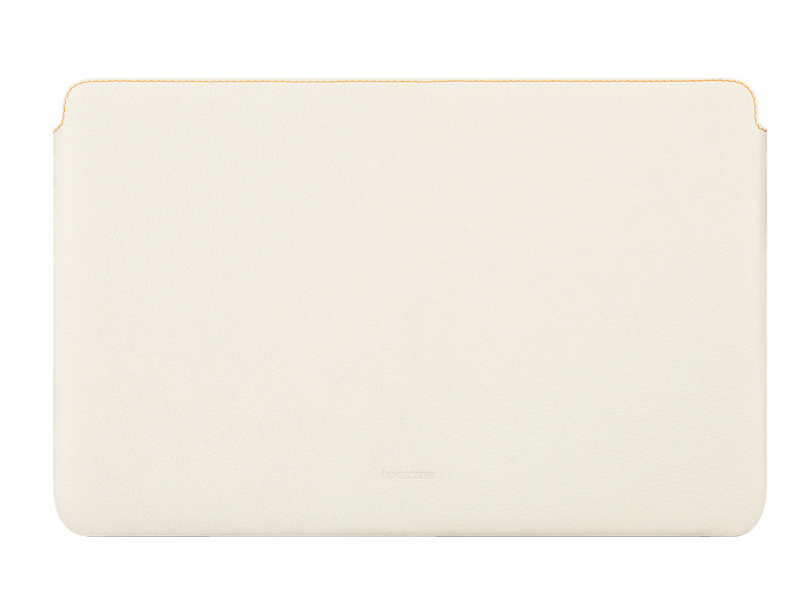 Чехол для MacBook Air 11'' Beyzacases Zero Series Leather Sleeve Flo White