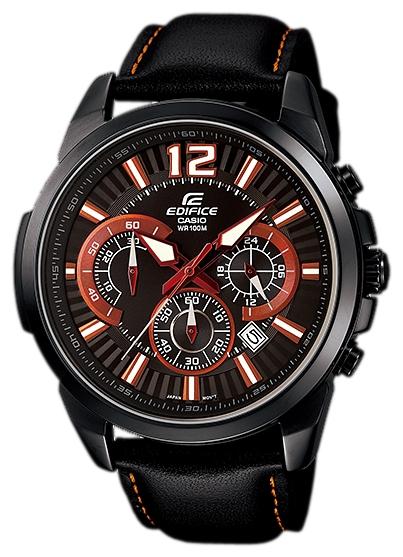 Наручные часы Casio EFR-535BL-1A4Универсальность, практичность, функционал – на это нацелились инженеры из Casio тогда в 2006. В итоге гигант часовой индустрии создал ещё один рыночный хит. С дизайном Edifice одинокого хорошо сочетается как динамичный спортивный наряд, так и подчёркнуто ...<br>