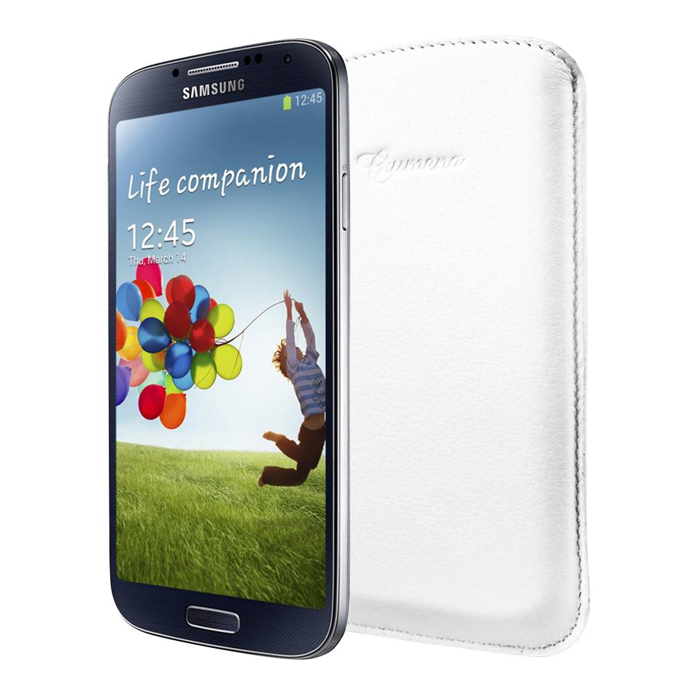Чехол SGP для Galaxy S IV Crumena белыйИзящному и функциональному Samsung Galaxy S IV подойдет только утонченный чехол, способный сохранить такую красоту в безопасности. Чехол Crumena от SPG — лучшее решение. Он сделан вручную из натуральной телячьей кожи, отменное качество которой видно даж...<br>