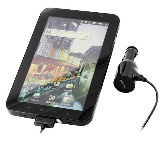АЗУ для Samsung Galaxy Tab YoobaoЗарядное устройство Yoobao для Samsung Galaxy Tab - это надежное автомобильное зарядное устройство, с которым можно не беспокоиться о зарядке Вашего планшета в дороге.<br>