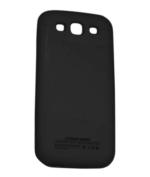 Чехол-аккумулятор Power Bank для Galaxy S III 2000 mAh черныйХотите заряжать телефон в несколько раз реже? Дополнительный аккумулятор Power Bank решит эту проблему. Запасная батарея встроена в стильный чехол, надев который вы можете использовать телефон без боязни, что он разрядится. То есть вам доступно еще больше...<br>