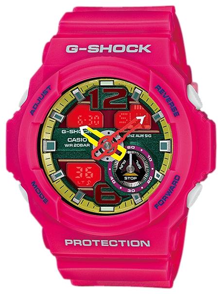 Casio GA-310-4AДо появления семейства G-SHOCK в 1983 году наручные часы считались непрочным и хрупким предметом. G-SHOCK исправили это, став новой точкой отсчёта и общепризнанным мировым эталоном высокой стойкости к повреждениям. Создавший G-SHOCK молодой инженер по име...<br>