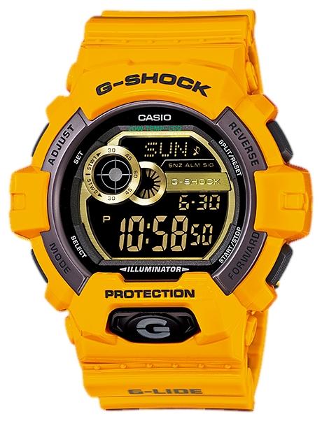 Наручные часы Casio GLS-8900-9EДо появления семейства G-SHOCK в 1983 году наручные часы считались непрочным и хрупким предметом. G-SHOCK исправили это, став новой точкой отсчёта и общепризнанным мировым эталоном высокой стойкости к повреждениям. Создавший G-SHOCK молодой инженер по име...<br>