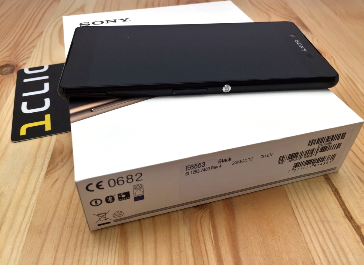 Sony Xperia Z3+. Обзор от 1CLICK