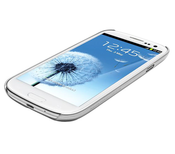 Чехол SGP Ultra Thin Air Satin Silver  для Samsung Galaxy SIII