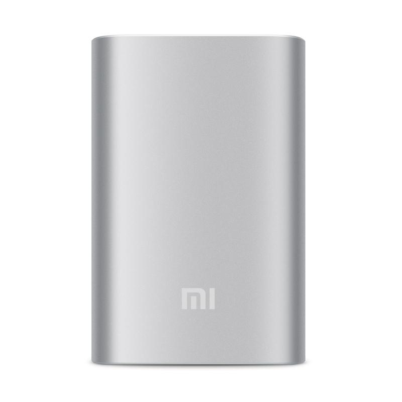 Внешний аккумулятор универсальный Xiaomi Power bank 10000 mAh Silver