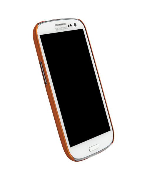 Чехол для Galaxy S III Krusell ColorCover OrangeПеред вами элегантная и прочная защита для Galaxy S III. ColorCover, толщиной всего несколько миллиметров, не только защищает необычный корпус от неприятностей, но и делает его использование намного удобнее. Чехол не скользит в руках, идеально повторяет и...<br>