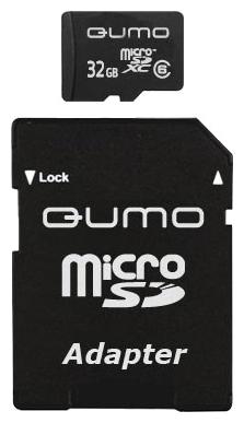 MicroSDHC 32GB QUMO Сlass 10 с адаптером SD 32 GbФлеш-карта QUMO MicroSDHC 32GB Class 10 – это универсальная карта памяти, которая подходит для цифровой техники, поддерживающей данный формат карт. Она призвана расширить память различных устройств. Данная карта имеет 10 класс записи – самый высокий и сам...<br>