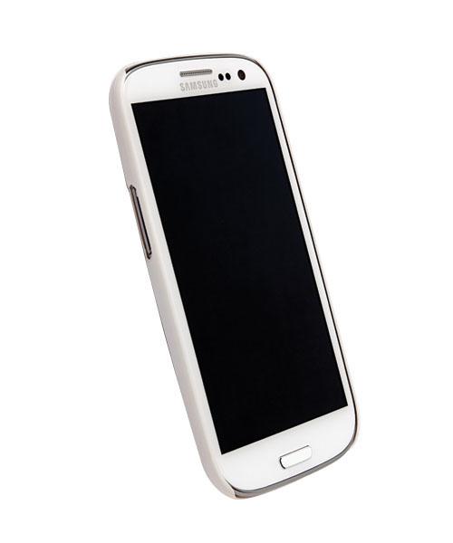 Чехол для Galaxy S III Krusell ColorCover WhiteПеред вами элегантная и прочная защита для Galaxy S III. ColorCover, толщиной всего несколько миллиметров, не только защищает необычный корпус от неприятностей, но и делает его использование намного удобнее. Чехол не скользит в руках, идеально повторяет и...<br>