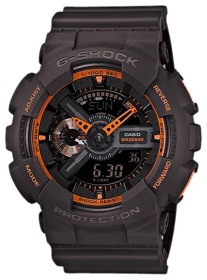 Наручные часы Casio GA-110TS-1A4До появления семейства G-SHOCK в 1983 году наручные часы считались непрочным и хрупким предметом. G-SHOCK исправили это, став новой точкой отсчёта и общепризнанным мировым эталоном высокой стойкости к повреждениям. Создавший G-SHOCK молодой инженер по ...<br>