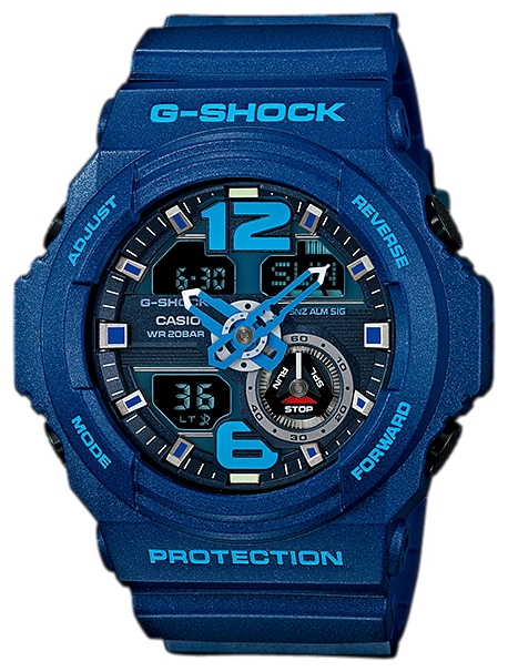 Casio GA-310-2AДо появления семейства G-SHOCK в 1983 году наручные часы считались непрочным и хрупким предметом. G-SHOCK исправили это, став новой точкой отсчёта и общепризнанным мировым эталоном высокой стойкости к повреждениям. Создавший G-SHOCK молодой инженер по и...<br>