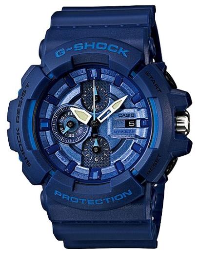Наручные часы Casio GAC-100AC-2AДо появления семейства G-SHOCK в 1983 году наручные часы считались непрочным и хрупким предметом. G-SHOCK исправили это, став новой точкой отсчёта и общепризнанным мировым эталоном высокой стойкости к повреждениям. Создавший G-SHOCK молодой инженер по име...<br>