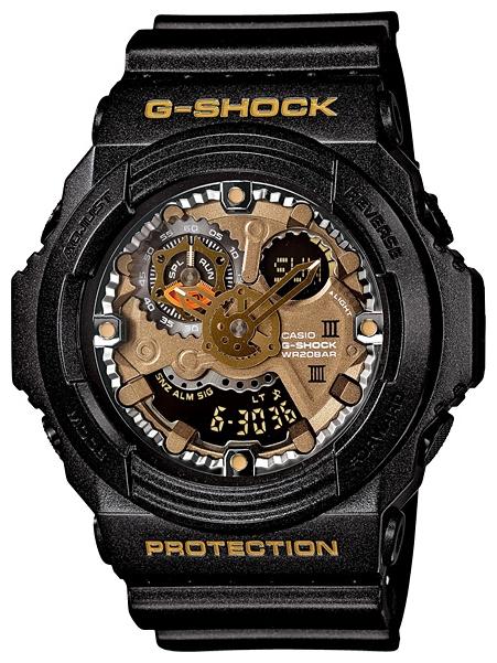 Наручные часы Casio GA-300A-1AДо появления семейства G-SHOCK в 1983 году наручные часы считались непрочным и хрупким предметом. G-SHOCK исправили это, став новой точкой отсчёта и общепризнанным мировым эталоном высокой стойкости к повреждениям. Создавший G-SHOCK молодой инженер по име...<br>