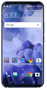 Смартфон HTC U11 Plus 128Gb Silver
