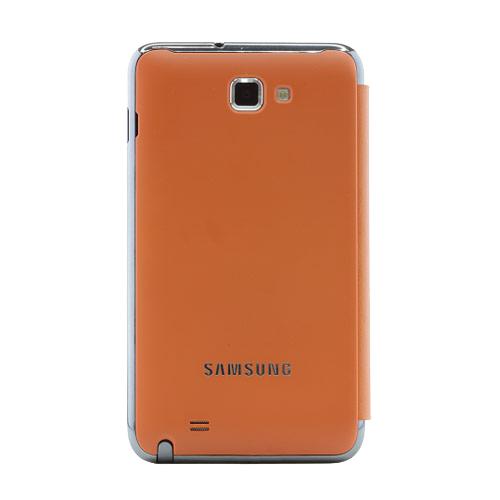Купить со скидкой Чехол для Galaxy Note оранжевый