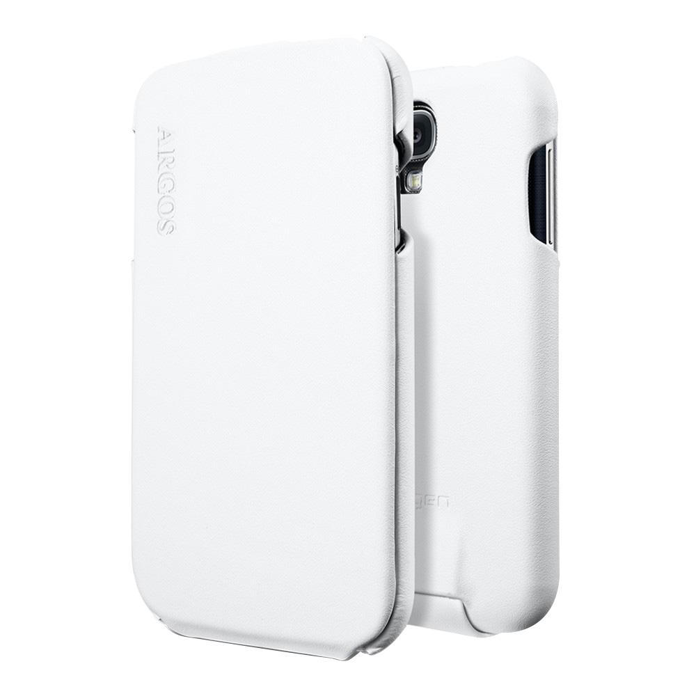 Чехол SGP для Galaxy S IV Argos белыйВеликолепный стильный чехол SGP Argos из натуральной кожи специально для Samsung Galaxy S IV выполнен вручную, что совместно с лаконичным дизайном, благородным материалом дают непередаваемое удовольствие от использования SGP Argos. Мягкое покрытие внутри ...<br>