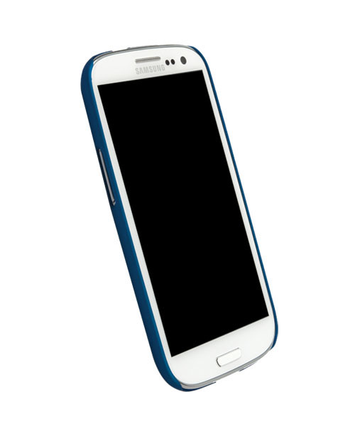 Чехол для Galaxy S III Krusell ColorCover BlueПеред вами элегантная и прочная защита для Galaxy S III. ColorCover, толщиной всего несколько миллиметров, не только защищает необычный корпус от неприятностей, но и делает его использование намного удобнее. Чехол не скользит в руках, идеально повторяет и...<br>