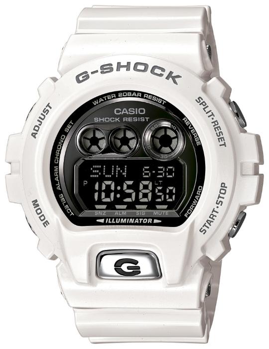 Наручные часы Casio GD-X6900FB-7EДо появления семейства G-SHOCK в 1983 году наручные часы считались непрочным и хрупким предметом. G-SHOCK исправили это, став новой точкой отсчёта и общепризнанным мировым эталоном высокой стойкости к повреждениям. Создавший G-SHOCK молодой инженер по име...<br>