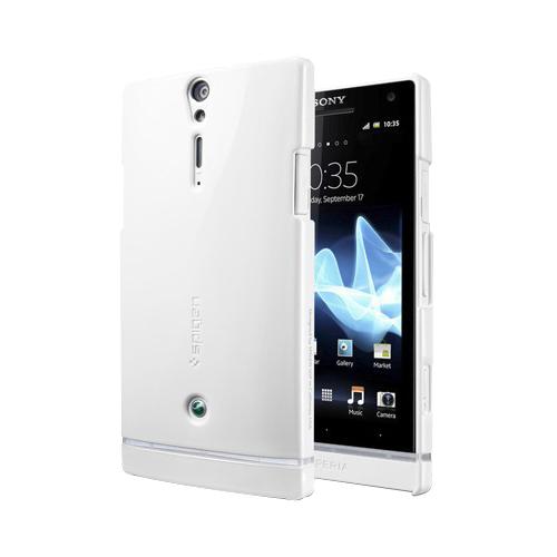Чехол для Sony Xperia S SGP Ultra Thin + пленка на экран белыйСамая невесомая защита для элегантного Sony Xperia S. Аккуратный чехол от известной американской компании SGP отлично подчеркнет изысканные формы смартфона, совершенно не увеличивая его размеры и вес. Кроме того, прочный, легкий и нетоксичный прорезиненны...<br>