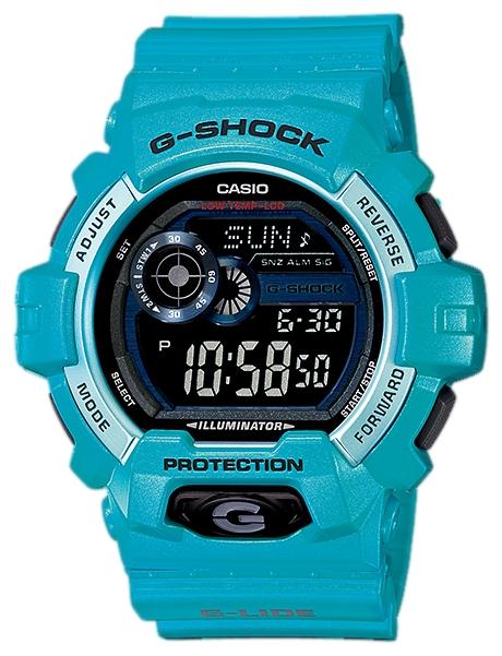 Наручные часы Casio GLS-8900-2EДо появления семейства G-SHOCK в 1983 году наручные часы считались непрочным и хрупким предметом. G-SHOCK исправили это, став новой точкой отсчёта и общепризнанным мировым эталоном высокой стойкости к повреждениям. Создавший G-SHOCK молодой инженер по име...<br>
