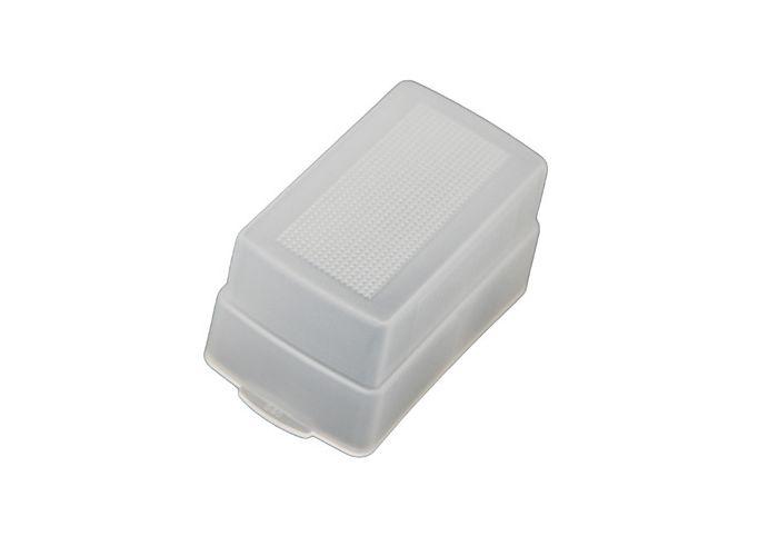 Flama FL-F58AM рассеиватель для вспышки Sony F58AMРассеиватель Flama FL-F58AM предназначен для использования со вспышкой Sony F58AM. Помогает смягчить световой поток и световые переходы, создать мягкое и гладкое освещение. С помощью данного аксессуара возможно уменьшить отражения, избежать резких теней и...<br>