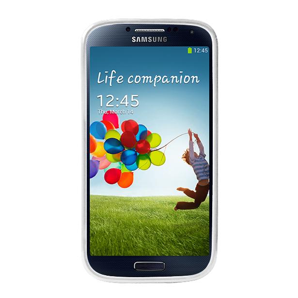 Чехол Puro для Galaxy S IV Clear Cover белыйPURO Clear Cover — это тонкая и легкая защита для вашего Galaxy S IV. Практически невесомый чехол-накладка сделан из качественного ударостойкого пластика, который плотно прилегает к хрупким панелям телефона, ничуть не увеличивает гаджет в размерах и отлич...<br>