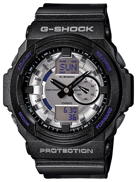 Наручные часы Casio GA-150MF-8AДо появления семейства G-SHOCK в 1983 году наручные часы считались непрочным и хрупким предметом. G-SHOCK исправили это, став новой точкой отсчёта и общепризнанным мировым эталоном высокой стойкости к повреждениям. Создавший G-SHOCK молодой инженер по име...<br>