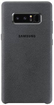 Чехол для Samsung Galaxy Note 8 Alcantara Cover grayПрактичный чехол защищает смартфон при падениях и ударах. Не секрет, что гаджеты часто роняют. Их ремонты стоят недешево. Позаботьтесь об этом заранее — защитите любимый девайс. В этом стильном чехле ваш мобильный гаджет будет долго выглядеть новым.<br>
