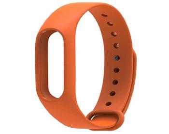 Ремешок для Xiaomi Mi Band 2 оранжевыйКрасивый, стильный, практичный браслет-ремешок для смарт-часов Xiaomi Mi Band 2.<br>