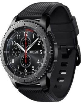 Samsung Gear S3 Frontier R760 BlackСмарт-часы Gear S3 Frontier сделают вашу жизнь увлекательней. Девайс, изготовленный из нержавеющей стали 316L, объединяет функционал и надежность. Модель защищена от ударов. Высококачественный поворотный безель с рифлением облегчает управление гаджетом. В...<br>