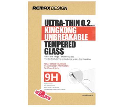 Стекло защитное противоударное для iPhone 5/5S/5C REMAX Tempered Glass 0,2mm