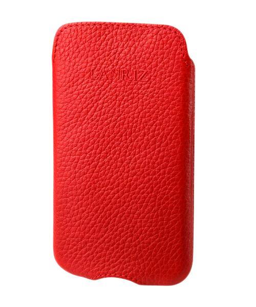 Чехол для Sony Xperia U Lanriz Pouchstrap Classic фактурная кожа красныйНе равнодушны к классике и просто в восторге от ярких деталей? Тогда лаконичный и модный Pouchstrap Classic от всемирно известной компании Lanriz — это то, что вам нужно. Классический чехол-кармашек из качественной износостойкой кожи — беспроигрышный вари...<br>