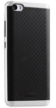 Чехол-накладка для Xiaomi Mi5 iPaky Case сереброПрактичный чехол защищает девайс при падениях и ударах. Не секрет, что гаджеты часто роняют. Их ремонты стоят недешево. Позаботьтесь об этом заранее — защитите любимый девайс. В этом стильном чехле ваш мобильный гаджет будет долго выглядеть новым.<br>