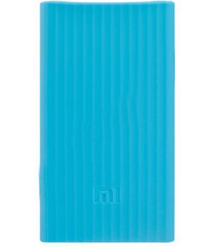 Оригинальный силиконовый чехол для Xiaomi Power bank 2 20000 mAh (голубой)
