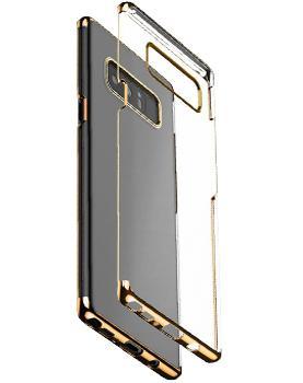 Чехол Baseus Glitter Case для Samsung Galaxy Note 8 GoldПрактичный чехол защищает смартфон при падениях и ударах. Не секрет, что гаджеты часто роняют. Их ремонты стоят недешево. Позаботьтесь об этом заранее — защитите любимый девайс. В этом стильном чехле ваш мобильный гаджет будет долго выглядеть новым.<br>