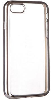 Накладка силиконовая для Iphone 7 Ibox Blaze серебристая рамкаПрактичная силиконовая накладка защищает девайс при падениях и ударах. Не секрет, что гаджеты часто роняют. Их ремонты стоят недешево. Позаботьтесь об этом заранее — защитите любимый iPhone. В этом стильном чехле ваш мобильный гаджет будет долго выглядеть...<br>