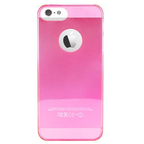 Чехол для iPhone 5/5S PURO Crystal Cover розовыйPURO Crystal Cover — это тонкая и легкая защита для вашего iPhone 5. Прозрачный чехол-накладка сделан из качественного ударостойкого силикона, который плотно прилегает к хрупким панелям телефона, ничуть не увеличивает гаджет в размерах и отлично защищает ...<br>