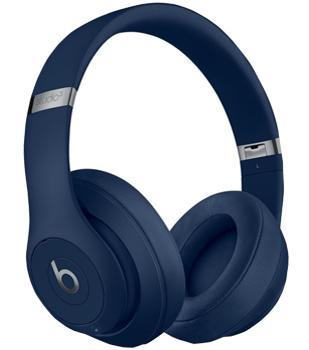 Наушники Beats Studio3 Wireless BlueBeats Studio3 Wireless — модные беспроводные наушники с адаптивным подавлением шума. Накладная модель снабжена технологией Pure ANC, блокирующей звуковые помехи. Pure ANC оставляет активного меломана наедине с его музыкой. Основа гаджета — эффективный чип...<br>