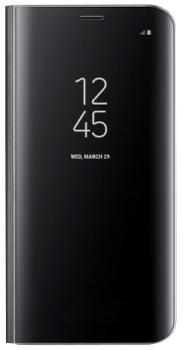 Чехол для Samsung Galaxy S8 Plus Clear View Standing Cover blackПрактичный чехол защищает смартфон при падениях и ударах. Не секрет, что гаджеты часто роняют. Их ремонты стоят недешево. Позаботьтесь об этом заранее — защитите любимый девайс. В этом стильном чехле ваш мобильный гаджет будет долго выглядеть новым.<br>