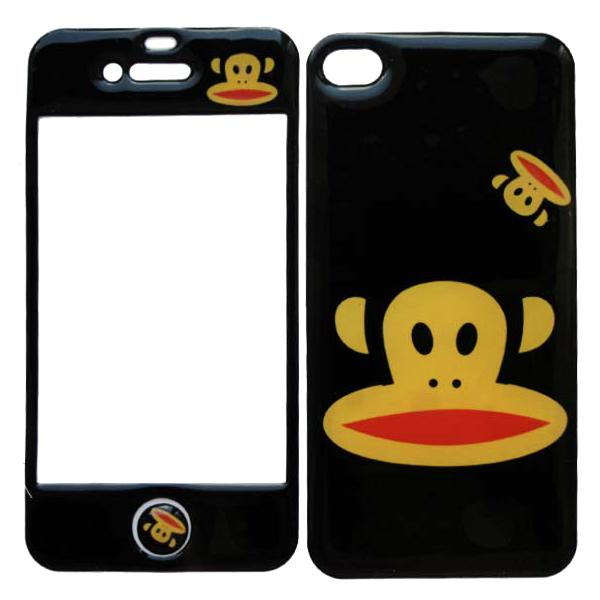 Наклейка на iPhone 4/4S Fashion Mobiskins Black