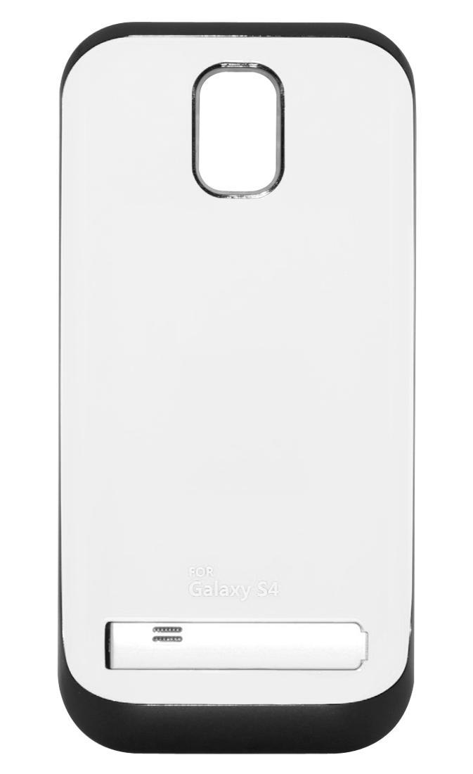 Чехол-аккумулятор для Galaxy S IV /3200mAh/белыйХотите заряжать телефон в несколько раз реже? Дополнительный аккумулятор Power Bank решит эту проблему. Запасная батарея встроена в стильный чехол, надев который вы можете использовать телефон без боязни, что он разрядится. То есть вам доступно еще больше...<br>
