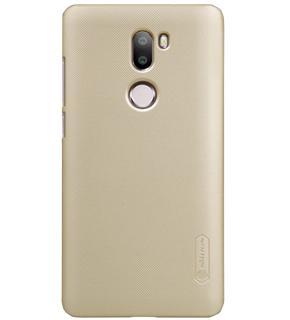 Чехол Nillkin Super Frosted Shield для Xiaomi Redmi Mi5s Plus goldПрактичный чехол защищает девайс при падениях и ударах. Не секрет, что гаджеты часто роняют. Их ремонты стоят недешево. Позаботьтесь об этом заранее — защитите любимый девайс. В этом стильном чехле ваш мобильный гаджет будет долго выглядеть новым.<br>