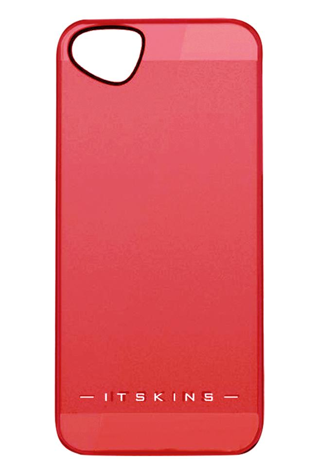 Накладка пластиковая для iPhone 5/5S Itskins The new Ghost с защ.пленкой красныйДизайнерское бюро ITSkins представило новую серию ультратонких пластиковых чехлов GHOST в нескольких цветовых решениях. Чехол сочетает в себе эстетическую привлекательность и функциональность - прекрасно защищает гаджет от внешнего воздействия. В комплект...<br>