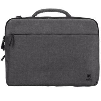 Сумка для ноутбука 15 Baseus сераяЗащищенная от воды сумка для 15-дюймового ноутбука и сопутствующих аксессуаров.<br>