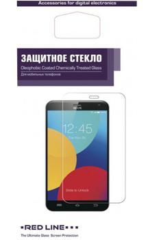 Стекло защитное для Huawei Honor 7X Red line Full Screen Cover (3D) черное