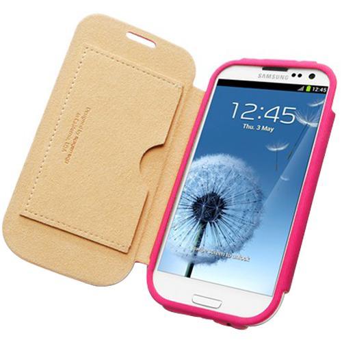 Чехол SGP Folio Leather Case Azalea Pink для Samsung Galaxy SIIIЯркий и удобный чехол Folio Leather Case от всемирно известной компании SGP не только защитит ваш телефон от повреждений, но и станет полезным аксессуаром. Ведь на внутренней стороне передней крышки расположен универсальный миниатюрный кармашек. Для кре...<br>